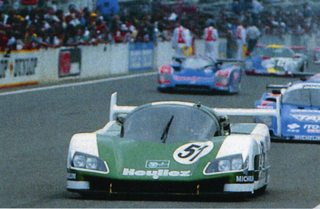 WM P88 motorizzata Peugeot Le Mans 1988
